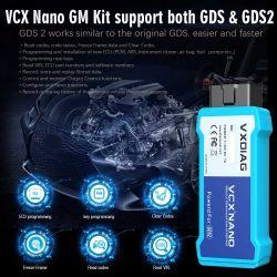 Vxdiag Vcx Nano für GM/Opel mehrfaches Gds2 und Tech2win Diagnosehilfsmittel mit WiFi