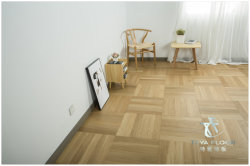 Chevrons Oak/Couleur naturelle/450*75*15/1.2mm/Hardwood Flooring/Parquet