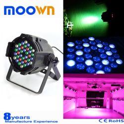 실내 36*3W RGBW 4in1 LED 동위는 선잠기 점화 할 수 있다