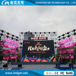 Pantalla LED Rental Advertising P3.91 P4.81 schermo per esterni a LED per video wall a LED gigante
