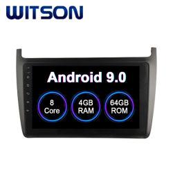 Android 9.0 автомобильной аудиосистеме для VW 2012-2015 поло 4 ГБ оперативной памяти 64Гб флэш-памяти большой экран в машине DVD плеер
