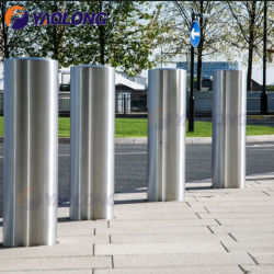 Controle de Acesso de Segurança Fácil Instalação304/3016SS L Barreira de estacionamento para a zona pedonal