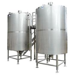 SUS316 10000L en acier inoxydable de tampon de réaction chimique Prix du réservoir de stockage