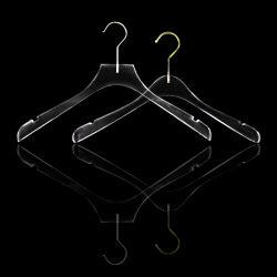 عالة واضحة سميك أكريليكيّ ملابس طبقة [ت-شيرت] عرض علاّق