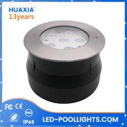 prix d'usine 18W à LED IP68 Feu souterrain sous-marin