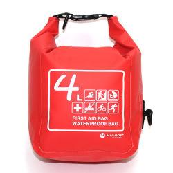 Los viajes de ocio de la moda exterior impermeable de escalada de la bolsa botiquín de primeros auxilios