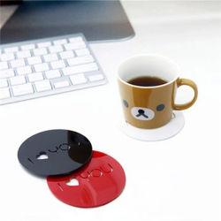 맞춤형 레이저 커팅 커피 컵 패드 매트 아크릴 코스터