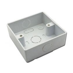 Caja de conexiones de PVC eléctrico 86*86 Caja de interruptores de caja de plástico