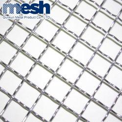 SS304 het roestvrij staal Geplooide het Weven Netwerk van de Draad