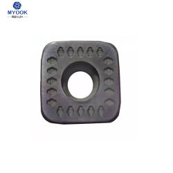 С ЧПУ120412 Sdmt фрезерования обрабатывающий инструмент вставки из карбида вольфрама ножа для резки металла, лампы накаливания твердосплавным наконечником