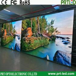 Ultra HD Mur vidéo LED intérieur, panneau d'affichage à LED en couleur avec 16 : 9 accessible avant d'administration (P1.25, P1.56, P1.8 TV)