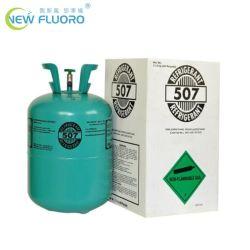 Con el cilindro 11,3kg mezcla refrigerante R410A/R404A/Gas refrigerante R507