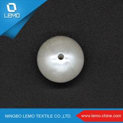 Reine Weiß DIY kugelförmige 20mm ABS Perlen-Raupen
