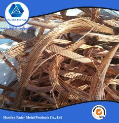 Pedaços de fio de cobre de 99,95% a granel com baixo preço de 99,95% de sucata de cobre