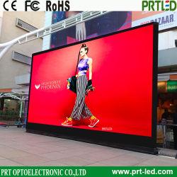 Schermo pieno di alta risoluzione del video a colori, visualizzazione di LED esterna dell'interno per la pubblicità del pubblico (P4, P5, P6)