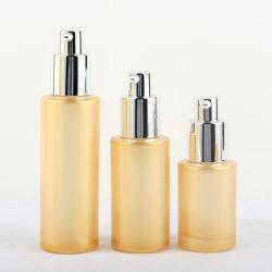 50g 100ml 120ml Perlen-weiße kosmetische Flaschenglas-Toner-Flaschen-Haut-Sorgfalt-leere Flaschen-Sets