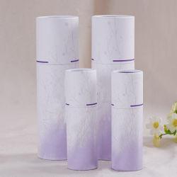 Kundenspezifisch Geschenk-Papiergefäß für die verpackenden Kosmetik und Wachspapier-Flaschen-Verpackung hochdrücken