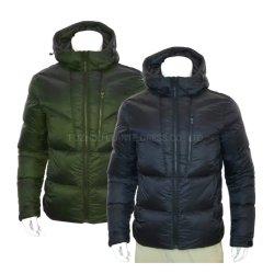 남성용 겨울 패션 아우터웨어 패딩 소재의 긴 코트 패션 다운 재킷
