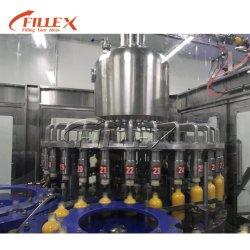 Caixa de vidro plástico garrafas de água de suco de laranja Vinho Cerveja Embalagem de enchimento da máquina de tratamento de água potável de plantas de produção