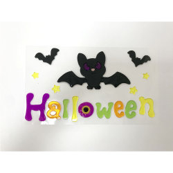 L'halloween papier décor mural