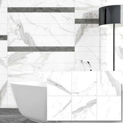 Sevilla resistentes ao calor branco Onyx ladrilhos de porcelana polida 600x600