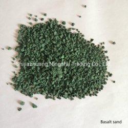 Revestimento em cerâmica telhas de grânulos de pedra de basalto Chip para asfalto Shingle aço revestido de azulejos do tejadilho