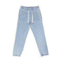Высокое качество детей горячим продажи Демин брюки детские повседневная мода девочек брюки джинсы Yvj-004