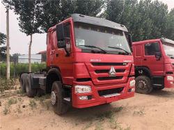 De Sinotruk Gebruikte Semi Vrachtwagen van de Tractor CNG van de Aanhangwagen Hoofd6X4 HOWO van het Aardgas van de Vrachtwagen van de Aanhangwagen 420HP voor Verkoop
