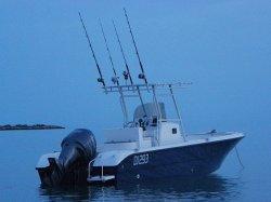 24FT 7.2mのガラス繊維の中央コンソールの漁船