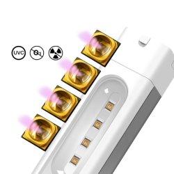 Desinfección 270nm-285nm Homeuse LED de esterilización UV ozono No No la radiación ultravioleta de la luz de lámpara germicida UV portátil