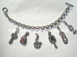 Form-Schmucksachen - Metallcharme-Armband