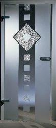 Personalizável Porta de vidro fabricados na China com alta qualidade e Bela Material de vidro temperado para Home