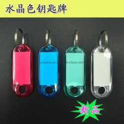 De in het groot Plastic Markering van de Ponsmachine van de Naam van identiteitskaart Met Leeg Etiket