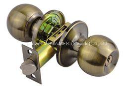 Porta tubulares com Trava de Botão de fechaduras de porta entrada privada Passage Cerradura de Perilla PARÁ