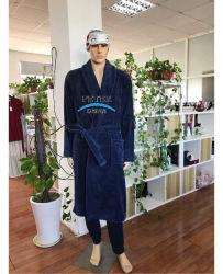 Fashion Coral Fleece de vêtements de détente Pyjama peignoir de bain Vêtements de nuit Vêtements de nuit