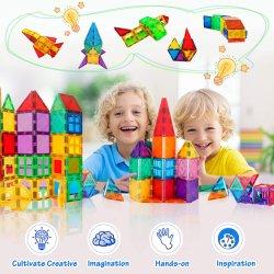 자기 빌딩 블록 타일 어린이 교육 완구 실기 장난감 교육용 블록