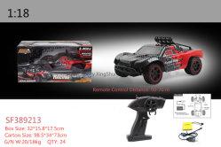 1:18 dell'automobile di RC 2 giocattoli fuori strada ad alta velocità della vettura da corsa di telecomando dell'azionamento
