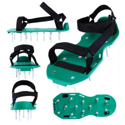 2020 훅과 루프 결박 원예용 도구가 새로운 디자인 잔디밭 통풍장치 스파이크에 의하여 구두를 신긴다