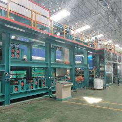 Doppio rivestimento doppio strato di cottura linea di rivestimento colore per acciaio/alluminio /ci/Gi/Gl