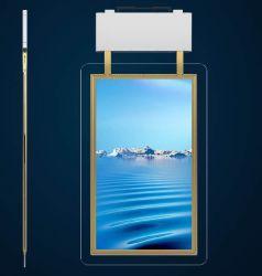 49 pulgadas Monitor LCD de doble cara colgando, Escaparate Digital Signage, exposición de la pantalla stand, la electrónica el marco de fotos