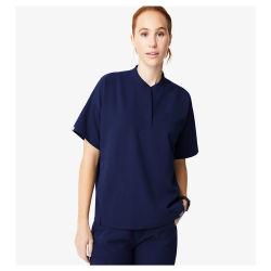 병원 Unifroms 간호원은 간호원 여자를 위한 세트 형식 허리 수집을 제거한다