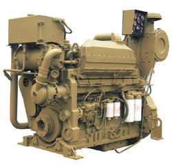 熱い販売真新しいターボチャージ水冷却の直接注入ディーゼル力の手前側にある海洋エンジン