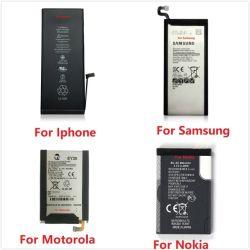 La tension stabilisée Compatible Batterie de téléphone pour iPhone/Samsung/Huawei/Xiaomi/oppo/VIVO/Tecno Desay batterie Apple pour remplacement de la batterie de téléphone mobile