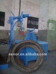 반자동 폐기물 타이어 재활용 장비, 중고 타이어 재활용 라인 장비, 고무 장비