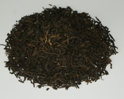Venda por grosso de Yunnan chá preto orgânico de folhas soltas Op chá preto