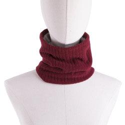 Lenço de inverno Fashion de Dupla Camada Velo simples tubular de malha o logotipo personalizado pescoço círculo mais quentes no Inverno lenços tecidos de lenço no pescoço
