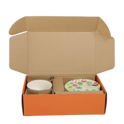 caja de cartón corrugado papel para el envasado de producto
