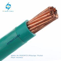 Aislamiento de PVC campera de nylon de la construcción de cables Cable Thhn