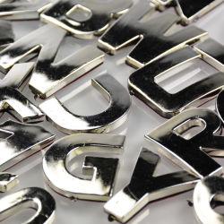 Custom Car Badges Emblemen Logo metalen borden 3D ABS Plastic Chrome Auto-logoletters