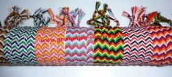 Bracelets tissés à la main de l'amitié de bonneterie Bracelets (WHK1992)